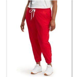 LEVI'S Jet Set Jogger Pants Cotton Red Women's 20W